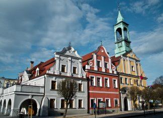 Zabytki i atrakcje Kluczborka - Rynek